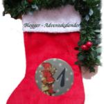 Adventskaledender Socke Blogger-Adventskalender