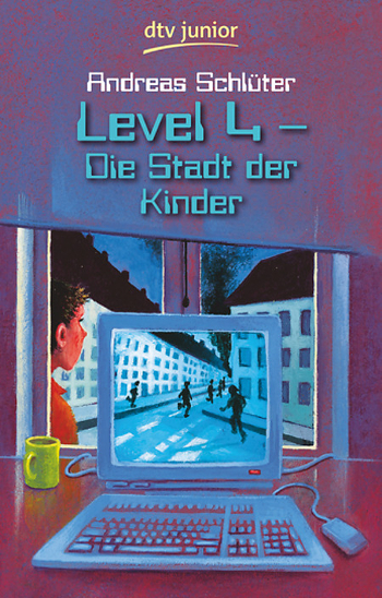 Cover Andreas Schlüter Level 4 Die Stadt der Kinder