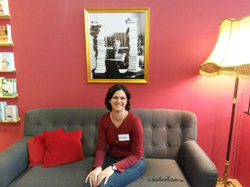 Agatha Christie Sofa bei Atlantik