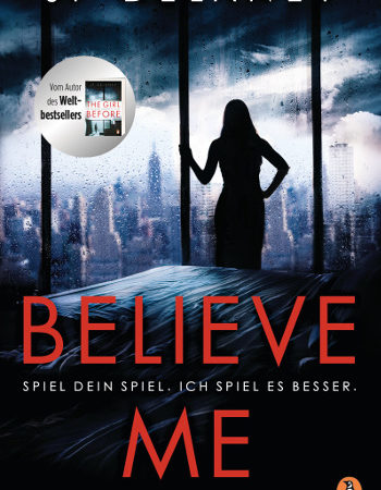 Cover Believe me jp delaney