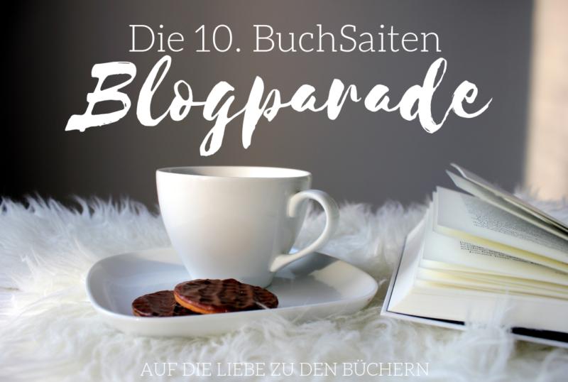 Buchsaiten Blogparade Logo